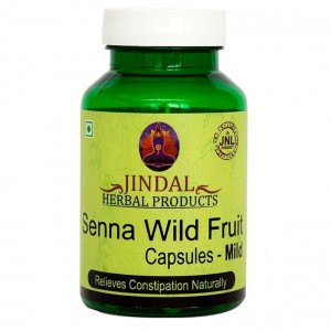 Senna wild fruit  capsules - mild 60 cap bottle