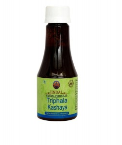 Triphala kashaya 100ml bottle