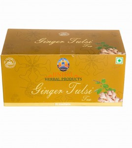 Ginger tulsi tea mc box 2.5g x 25 pouches